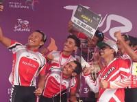 Indonesia Menangkan Tour de Jakarta 2016