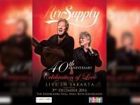 Konser 40th Anniversary Air Supply di Jakarta