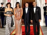 Pesona Gaun Michelle Obama