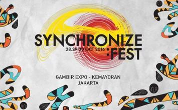 Semarak Ratusan Musisi di Synchronize Fest 2016