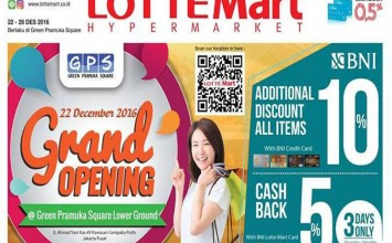 Pesta Promo Lotte Mart Green Pramuka Square