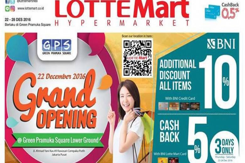 Pesta Promo Lotte Mart Green Pramuka Square
