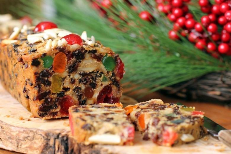 Tutty Fruity Christmas Cake