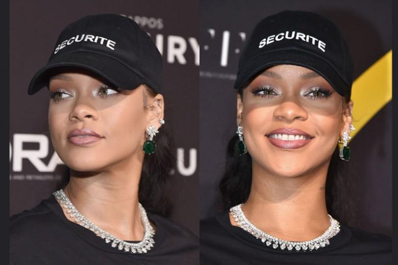 Rihanna Kenakan Chopard Saat Terima Award