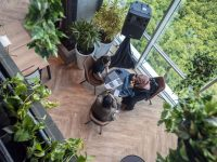 Begini Co-Working Space Penthouse di Jakarta