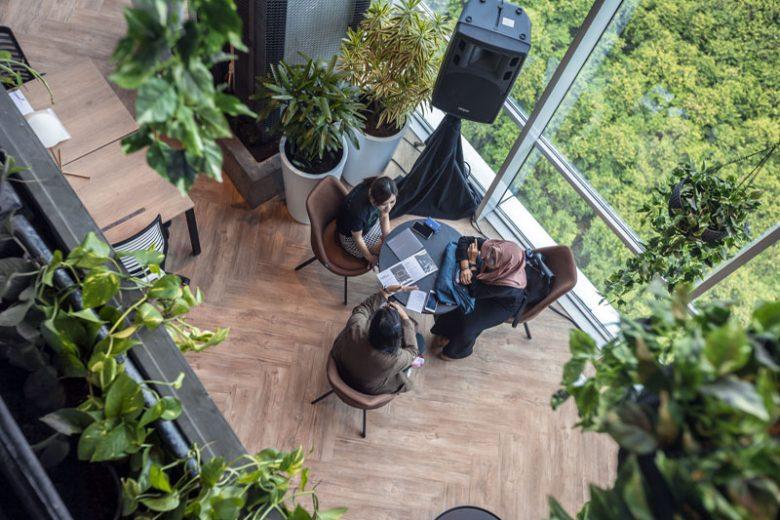 Begini Co-Working Space Penthouse di Jakarta