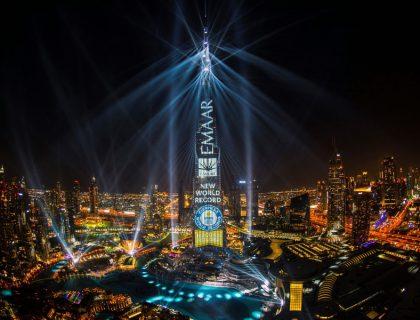 Pertunjukan di Dubai Ini Raih Rekor Dunia