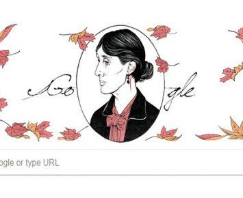 Siapa Virginia Woolf di Google Doodle Hari Ini?