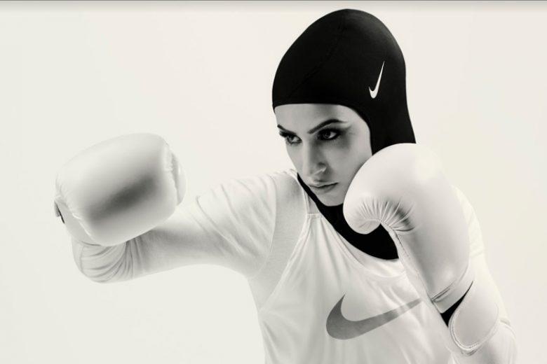 Berolahraga Dengan Nike Pro Hijab
