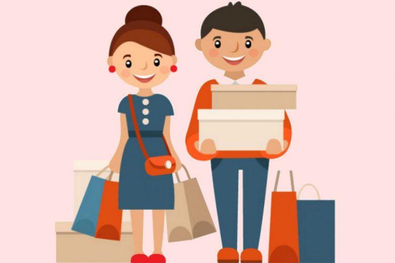 Beda Perempuan dan Laki-laki Saat Belanja Online
