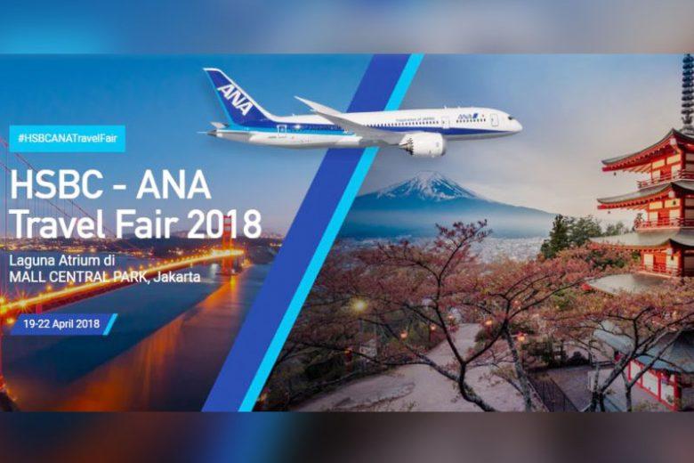 Berburu Tiket Murah di HSBC-ANA Travel Fair