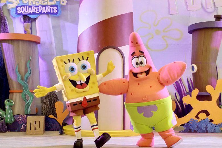 Serunya Liburan Bareng SpongeBob
