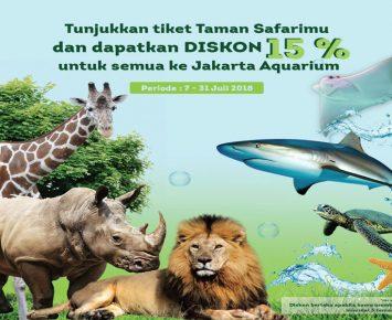 Diskon Khusus Jakarta Aquarium