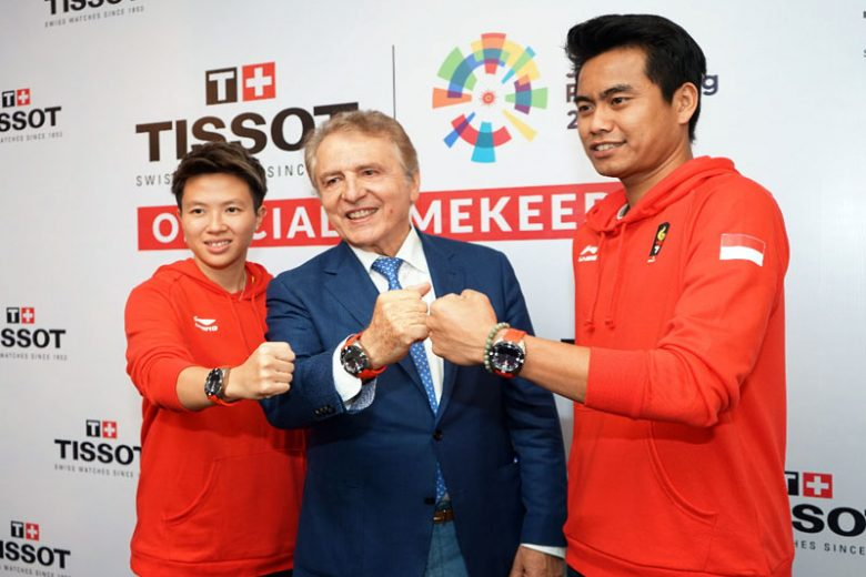 Koleksi Tissot Asian Games 2018