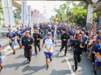 Indofood Ikut Pawai Obor Asian Games 2018