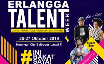 Erlangga Talent Week 2018