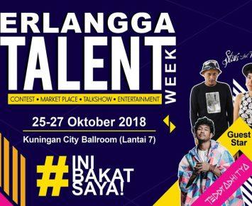 Erlangga Talent Week 2018