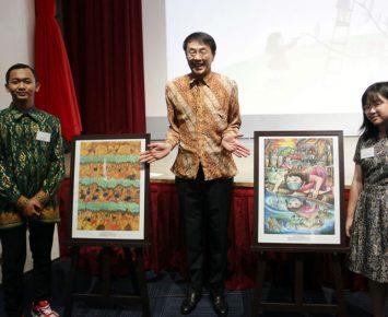 Indonesia Menangkan Lomba Lukis Anak Internasional