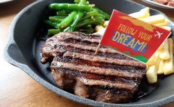 Makan Steak Berhadiah Liburan ke Luar Negeri