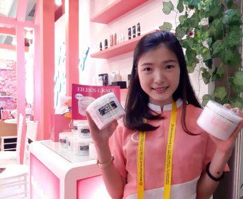 Eileen Grace Bidik Pasar Indonesia