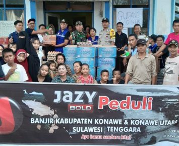 Jazy Bold Salurkan Bantuan Kemanusiaan