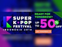 Diskon 50% Tiket Super K-Pop Festival Indonesia 2019