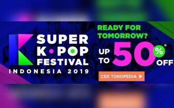 Diskon 50% Tiket Super K-Pop Festival Indonesia 2019
