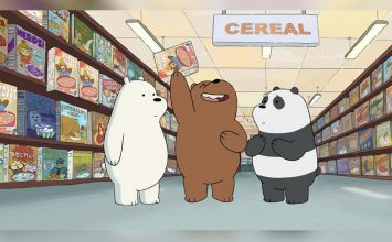 We Bare Bears Hadir di Pluit Village