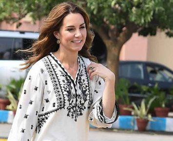 Inspirasi Busana Lebaran Kate Middleton