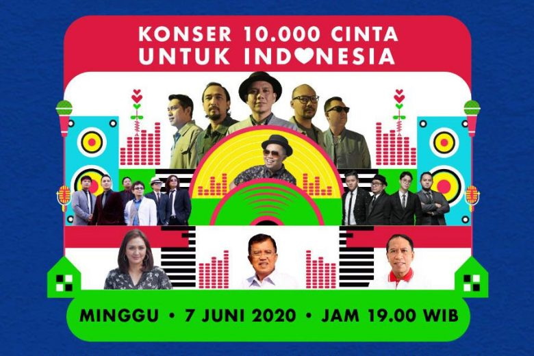 Saksikan Live-Streaming Concert 'First Festival From Home'
