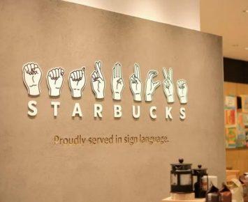 Kedai Starbucks Jepang Gunakan Bahasa Isyarat