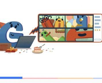 Google Rayakan Ulang Tahun Secara Online