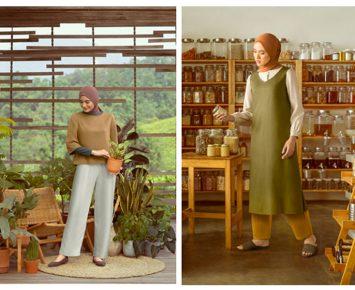 Uniqlo – Ayudia Luncurkan Gaya Hijab Minimalis