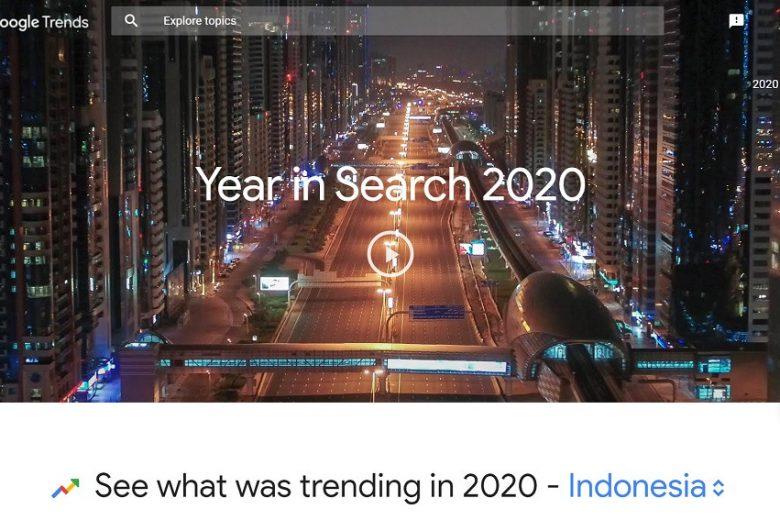 Yang Dicari Orang Indonesia Sepanjang 2020