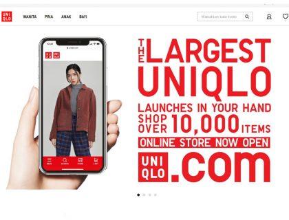UNIQLO Luncurkan Toko Online Terbesar
