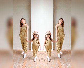 Empat Inspirasi Gaya Busana Kembar Ibu dan Anak